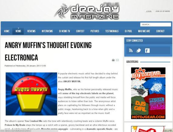 Angry Muffin DJ News
